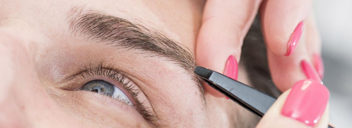 Augenbrauen Zupfen & Haarentfernung in Wiesbaden