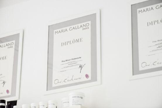 Maria Galland Paris Diplom - Kosmetikerin Wiesbaden