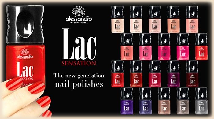 alessandro International - lac sensation Kosmetikprodukte Wiesbaden